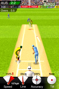 Spinfast Cricket (2008), Spinfast