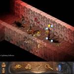 Ancient Evil 2 Screenshot - A corridor with a combatant.