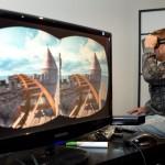 Oculus Rift demo.