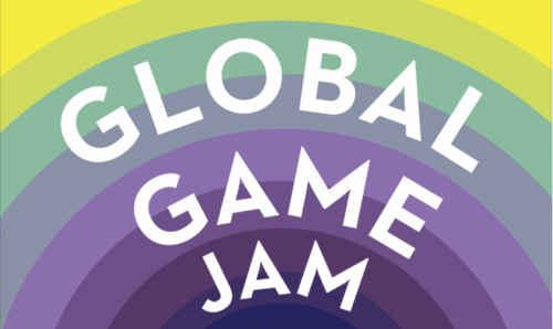 "Text: ""Global Game Jam"""