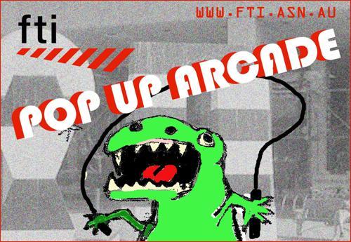 FTI Pop Up Arcade Banner