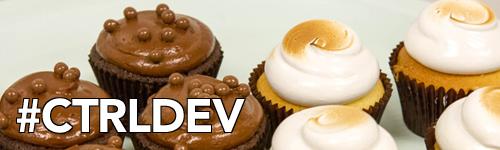 Ctrl Dev Cupcake Banner