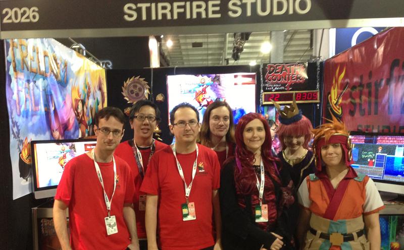 Stirfire Studios at PAX 2013