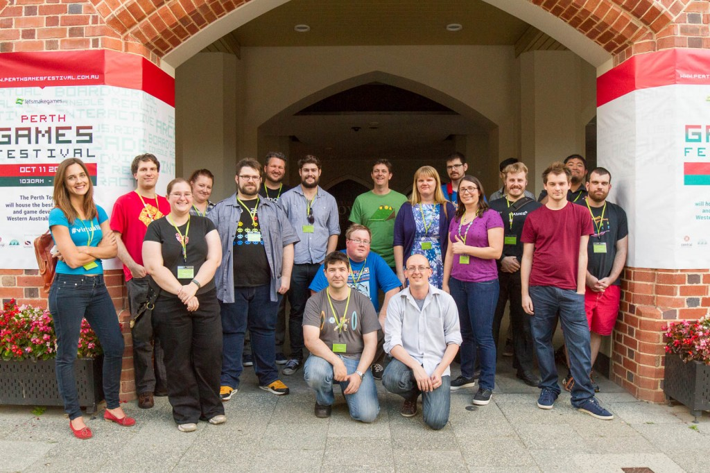The Perth Games Festival Crew