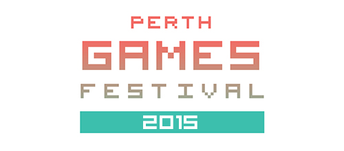 Perth Games Festival 2015 Logo