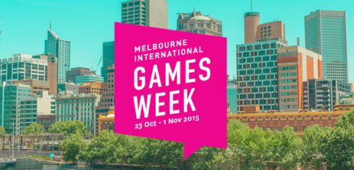 Melbourne International Games Week - Banner