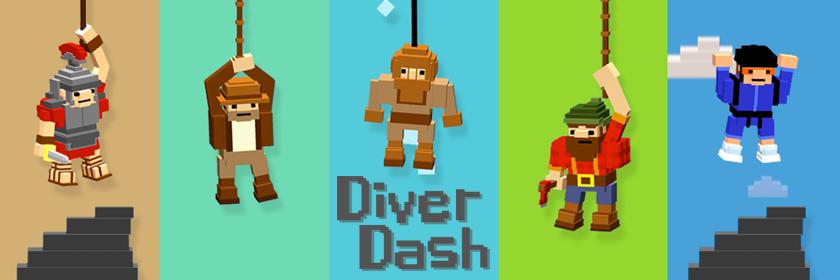 Diver Dash Header