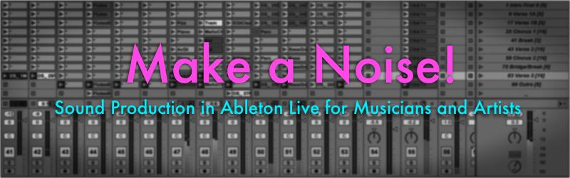 Make a Noises - Banner
