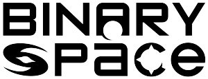 Text Logo: Binary Space. URL links to Binary Space website.