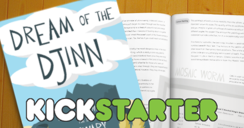 I Dream of Djinn Hits Kickstarter