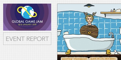 Global Game Jam 16: Report by GameCloud