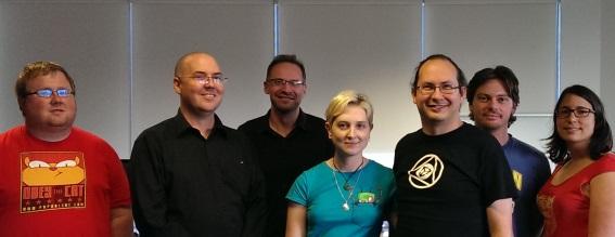 New Committee Members (from left to right): Jon, John, Wes, Kitty, Brendan, Brad & Jess