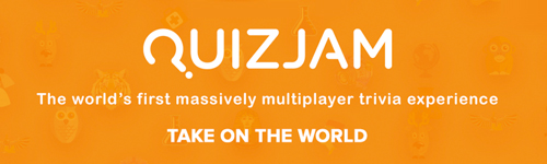 Quiz Jam: The worlds first massively multiplayer trivia experience. Take on the World!