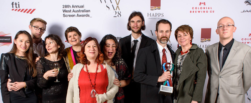 Local game makers and supporters making a mark at the WASA awards!