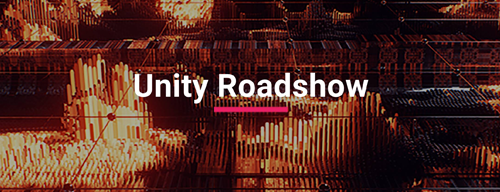 Image Header for Article, text reads Unity Roadshow. URL links to Unity Roadshow eventbrite page.