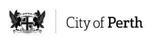Logo: City of Perth. Url links to City of Perth websites