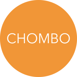 "A circle with the text ""Chombo"" within it."