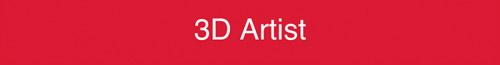 """Job title Text reads: """"3D Artist"""""""