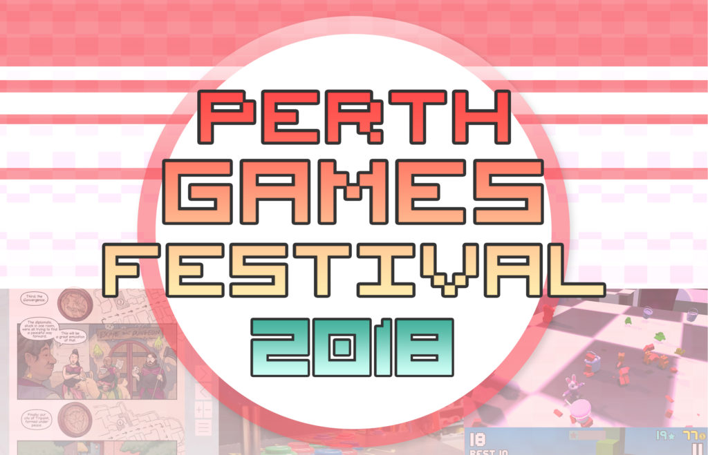 Perth Games Festival 2018 Logo